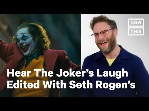 People Are Parodying The 'Joker' With Celebrity Laughs, Like Seth Rogen | NowThis