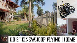 HD 2 Inch Micro Cinewhoop (AKA Cinematic Micro Quad) FPV Flying