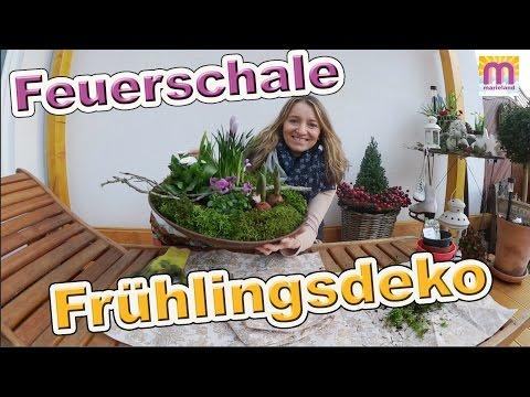 Feuerschale Frühlingsdeko Vlog # 51 Marieland