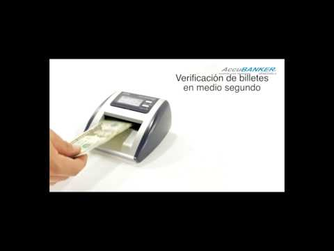 D500 Detector Automático de Billetes Falsos