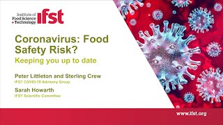 Coronavirus: Food Safety Risk? Keeping You Up To Date