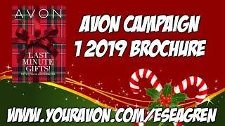 Avon Campaign 1 2019 Brochure