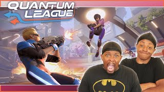 This Might Be The CRAZIEST Arena Shooter EVER Made! (Quantum League Gameplay)