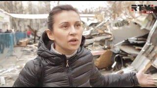 """""""Меня ковшом сносят вместе с павильоном!"""" - хозяйка разрушенного самостроя в Москве"""