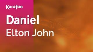 Karaoke Daniel   Elton John *