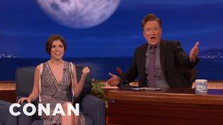 Anna Kendrick & Conan Burst Into Song  - CONAN on TBS
