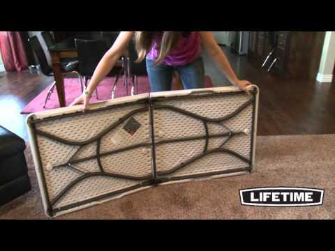 Lifetime's Fold-in-Half Table Tutorial
