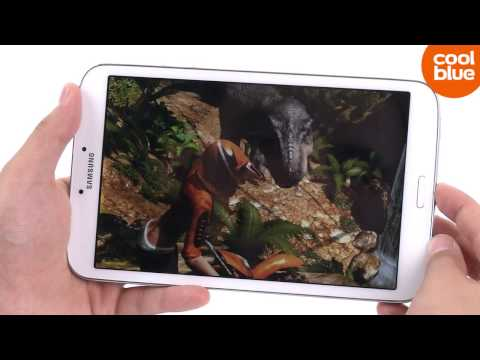 Samsung Galaxy Tab 3 8.0 videoreview en unboxing NL/BE
