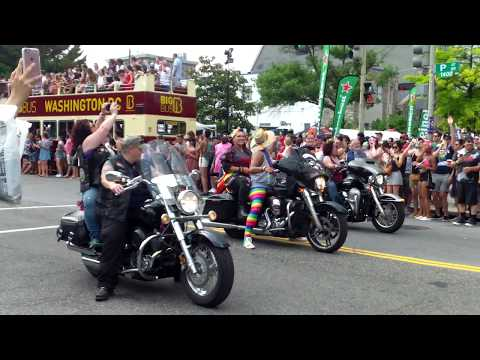 The Gay Parade 2018 - Washington DC - 6/9/2018 .