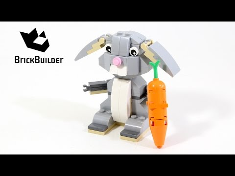 Vidéo LEGO Saisonnier 40086 : Le lapin de Pâques LEGO