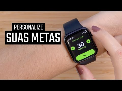 Personalize TODAS as suas METAS no Apple Watch! Nova função do WatchOS 7
