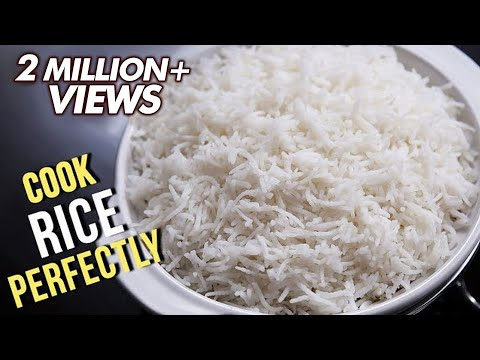 How To Cook Rice Perfectly | Easy Recipe By Ruchi Bharani | Basic Cooking
