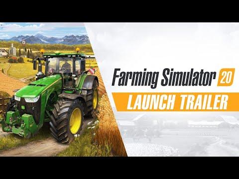 Farming Simulator 20 - Launch Trailer thumbnail