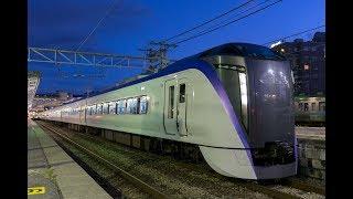 上諏訪駅を発着するE257系、E353系、四季島、211系