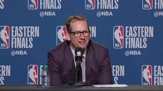 Nick Nurse Postgame Interview - Game 3 | Bucks vs Raptors | 2019 NBA Playoffs