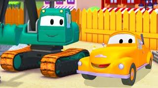 Tom Holownik i Koparka Edgar 2 w Miasto Samochodów |Samochody i pojazdy bajka o maszynach dla dzieci