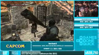 Dark Souls II by FearfulFerret, Oginam in 1:12:56 - Summer Games Done Quick 2015 - Part 150