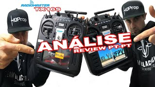 RC e FPV    Radiomaster TX16S    BARATO e QUALIDADE TOP    ANÁLISE PT-PT