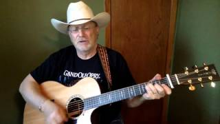 1928 -  I Don't Remember Loving You -  John Conlee vocal & acoustic guitar cover & chords