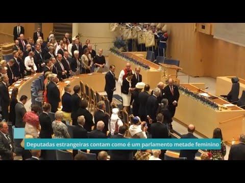 Deputadas estrangeiras contam como é um parlamento metade feminino - 03/12/20