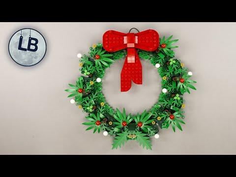 Vidéo LEGO Saisonnier 40426 : Couronne de Noël 2-en-1