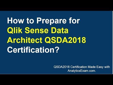 Best Preparation Tips For Qlik Sense Data Architect QSDA2018 ...