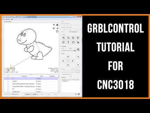 GRBLCONTROL CANDLE] - GRBL Controller Tutorial for CNC 3018 | CTOOM