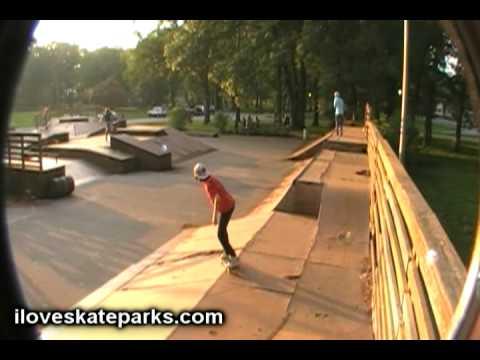 iloveskateparks.com Tour - Portage Skatepark, Portage, IN