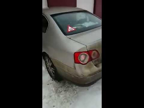 Бедная машинка или Девушка приехала на автомойку