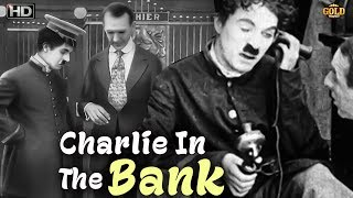 Charlie in the Bank - Comedy Movie | Charles Chaplin, Ben Turpin, Charlotte Mineau.