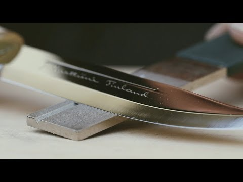 How To Sharpen A Knife - Knife Sharpening | Marttiini