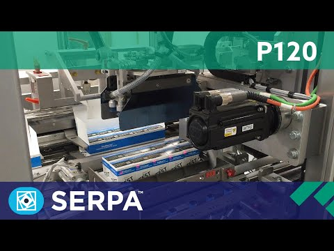 P120 Vertical cartoner running cartons