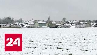 В Австрию вернулась зима
