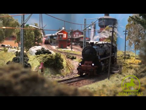 Come funziona il fumo nelle locomotive a vapore del plastico ferroviario