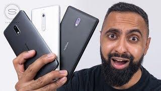 Epic NOKIA Unboxing - Nokia 3 - Nokia 5 - Nokia 6