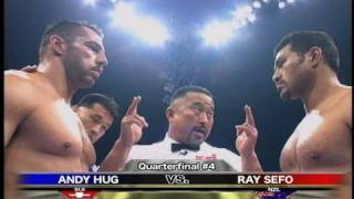 Andy Hug vs. Ray Sefo - K-1 GP