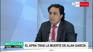 Alan García: detención preliminar fue una insania judicial, afirma dirigente aprista