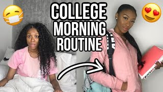 MY UPDATED COLLEGE MORNING ROUTINE