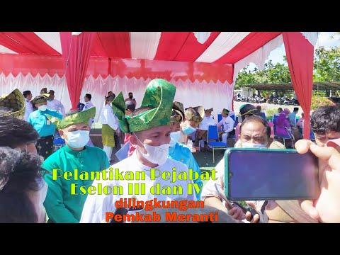 VIDEO: Perdana, Bupati Adil Lantik 243 Pejabat Eselon III dan IV