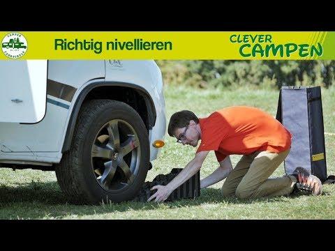 Das Wohnmobil richtig nivellieren: So geht´s! - Die Camper Fahrschule | Clever Campen