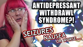 Cymbalta Withdrawal Syndrome is SCARY - How I'm Stopping my Antidepressant