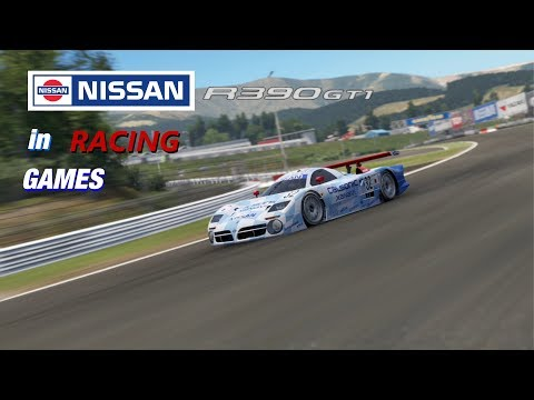 Nissan R390 GT1 LM 1998 in Racing Games