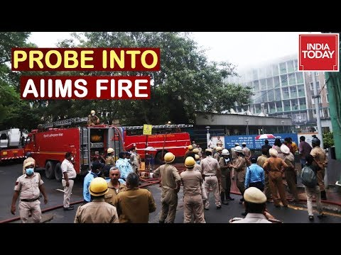AIIMS Fire Internal Probe Initiated, Pregnant Mother Evacuated Gives Birth
