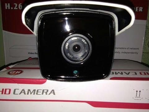 Video Demo camera ip wifi ngoài trời Y570S 2 râu
