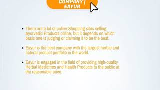 Buy ayurvedic product online in India | Eayur