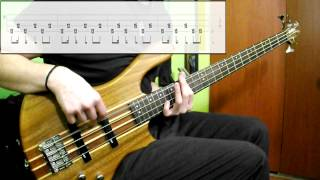 System Of A Down   Toxicity (Bass Cover) (Play Along Tabs In Video)