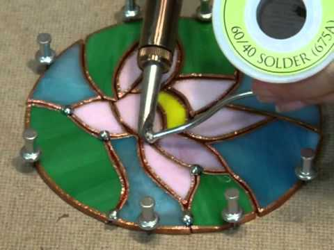Stained Glass - How to use a Soldering Iron