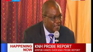 KMPDB hands over KNH probe to the Parliamentary Health Committee: News Centre