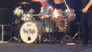 Ian Paice colorful drum solo - The Mule - Deep Purple Count Basie Theatre Red Bank NJ July 29 2015