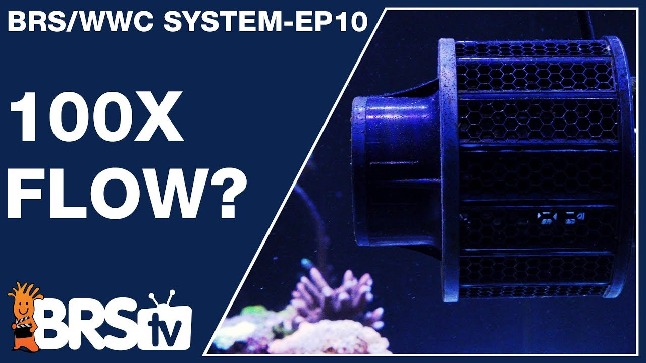 Ep10: Flow, the backbone to a stable and stunning reef tank. - The BRS/WWC System
